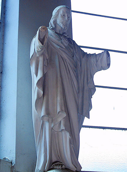 Christ without hands in Soweto, South Africa