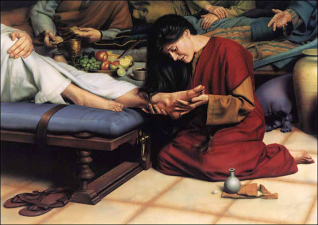 Sinful woman forgiven by jesus christ - 2 3