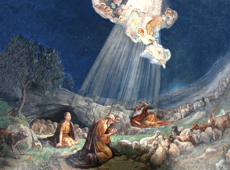angels sing to shepherds - photo #3